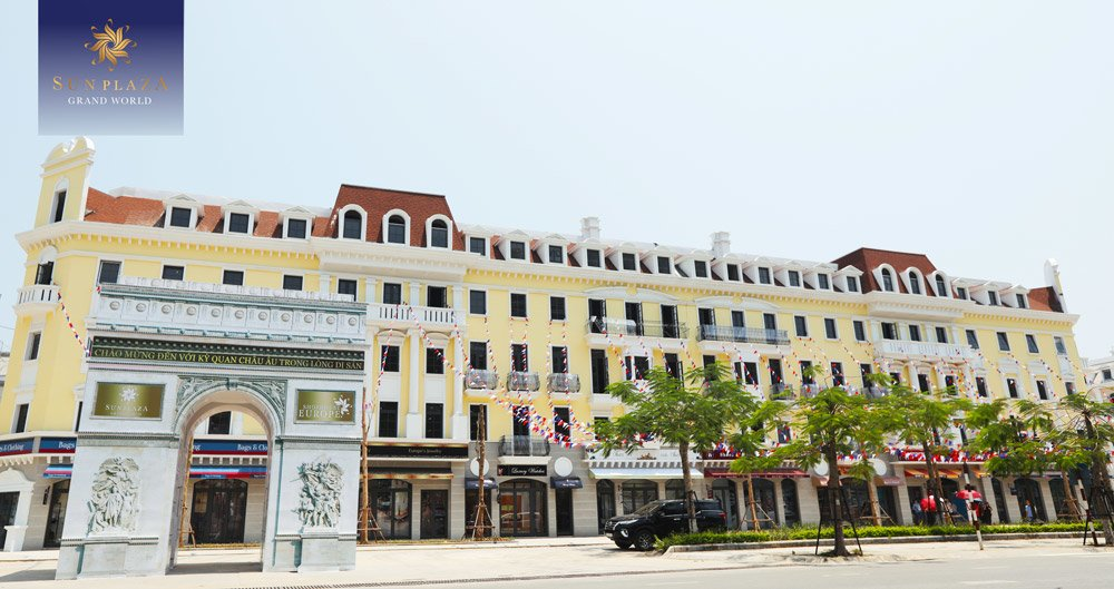Shophouse Europe Hạ Long